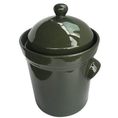 15L Fermenting Crockpot, olive green